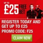 Ladbrokes £25 Free Bet