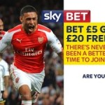 SkyBet - Bet £5 and get £20 Free Bet